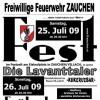 Einladung Zeltfest 2009